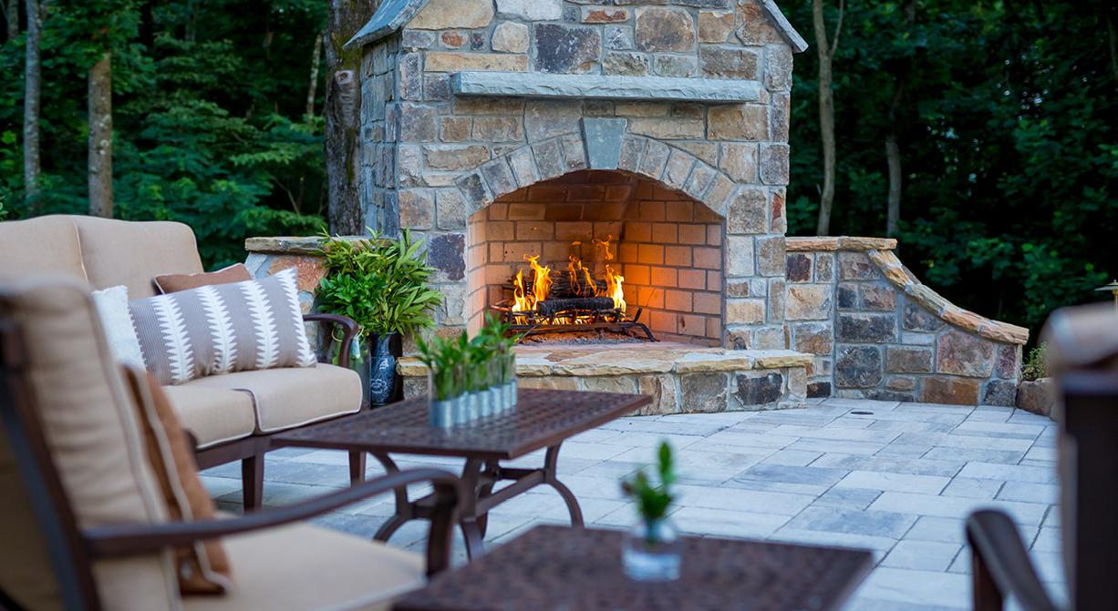 outdoor living area company